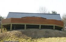 Wood terrace
